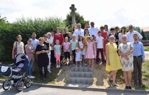 Požehnanie obnoveného kríža